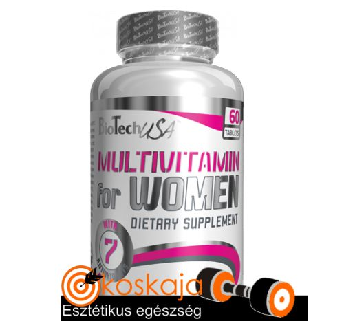 Multivitamin for Women - 60 tabletta (multivitamin sportoló nőknek) | Vitamin
