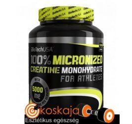 100% Micronized Creatine Monohydrate - 1 000 g (kreatin monohidrát) | Kreatin