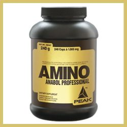 Amino Anabol Professional - 240 db | Aminosav