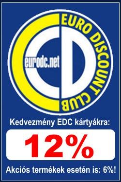 EDC kedvezmény