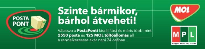 MPL, PostaPont, MOL Pont, Csomagautomata