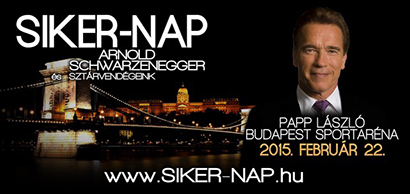 Arnold Budapesten, Siker-nap 2015