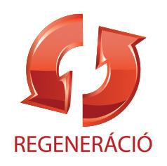 Antikatabólikus, regenerációt segítő hatás