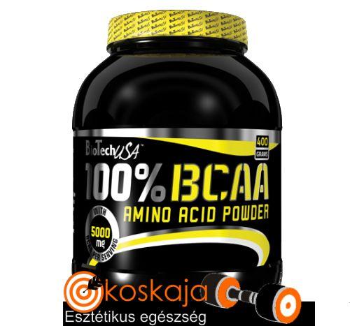 100% BCAA - 400g | Aminosav
