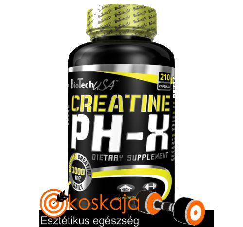 Creatine pH-X - 210 kapszula | Kreatin