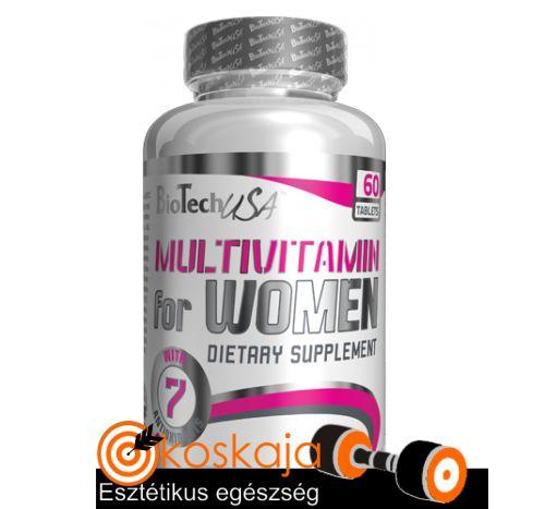 Multivitamin for Women - 60 tabletta | Vitamin