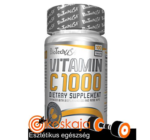 Vitamin C 1000 USA - 100 tabletta (C-vitamin) | Vitamin