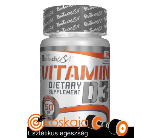 Vitamin D3 - 60 tabletta | Vitamin
