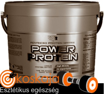 Power Protein - 4000g (doboz, kevert fehérje)